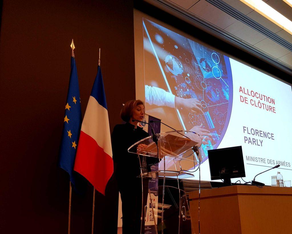 """Florence Parly, ministre des Armées, discours de clôture de la conférence """"Recherche, Innovation et Défense"""", le 20 mars 2019 à l'Assemblée nationale"""