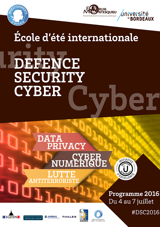 Ecole d'été Defense Security Cyber