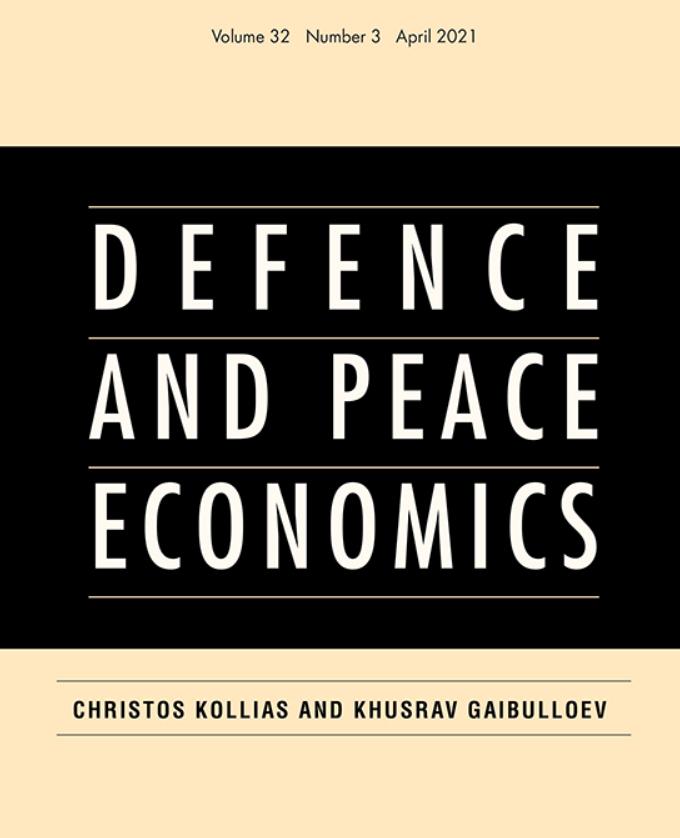 Déterminants des dépenses de défense : publication d'un article de Josselin Droff et Julien Malizard dans la revue Defence and Peace Economics