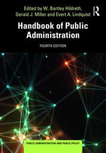 Friederike Richter, Chercheuse associée à la Chaire Économie de défense - IHEDN, est co-auteure d'un chapitre dans l'ouvrage Handbook of Public Administration.
