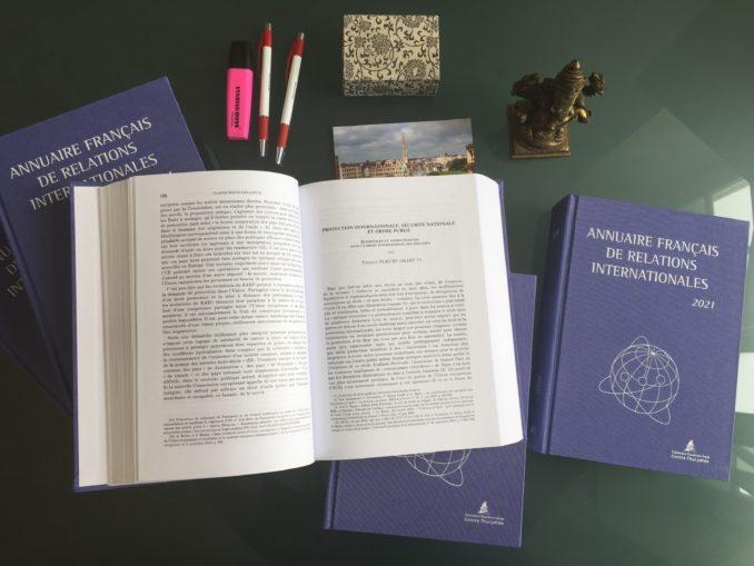 """Julien Malizard, titulaire adjoint de la Chaire,est l'auteur d'un chapitre consacré à la perspective économique du terrorisme, intitulé """"La lutte contre le terrorisme : une perspective économique"""", dans l'édition 2021 de l'Annuaire français des relations internationales (AFRI)."""